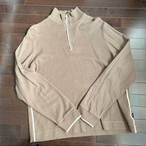 Hugo Boss Half zip cotton sweater